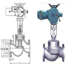 一体化电动闸阀J941H-25 DN250