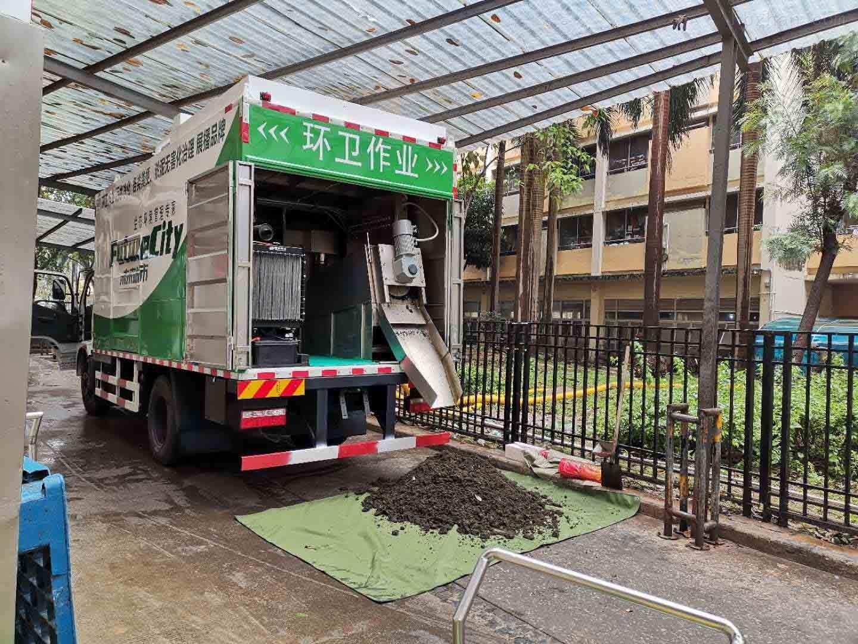 多功能汙水處理車 環保壓縮汙水淨化車