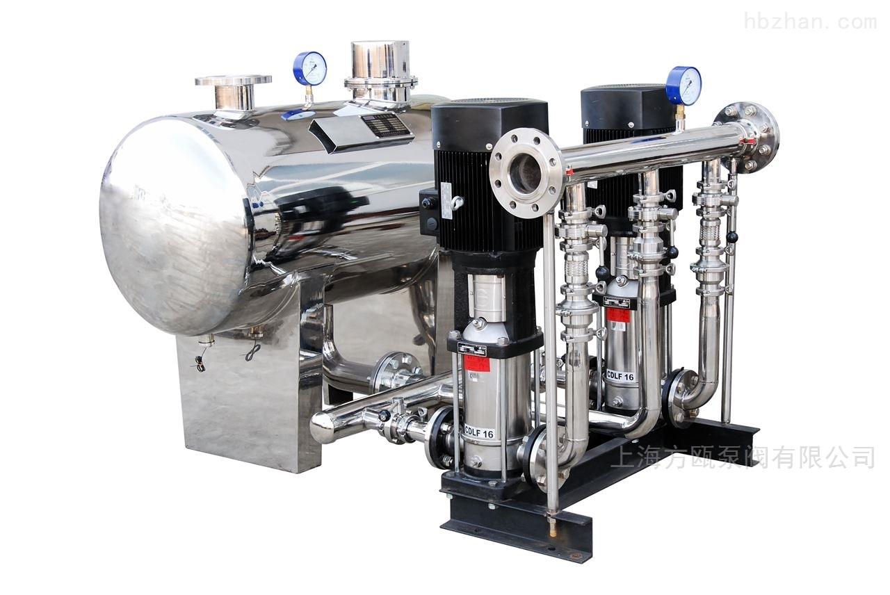 不锈钢水冷静音无负压供水机组设备