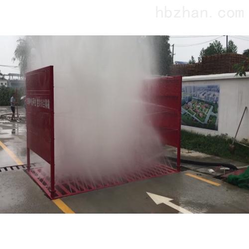 成都市溫江區建筑工地進出車輛自動清洗設備