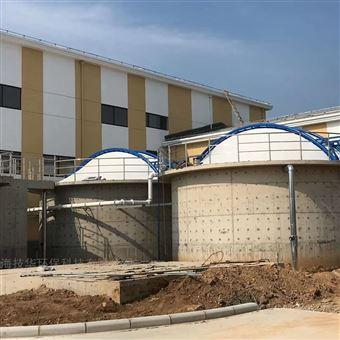 污水站生物滤池除臭加盖
