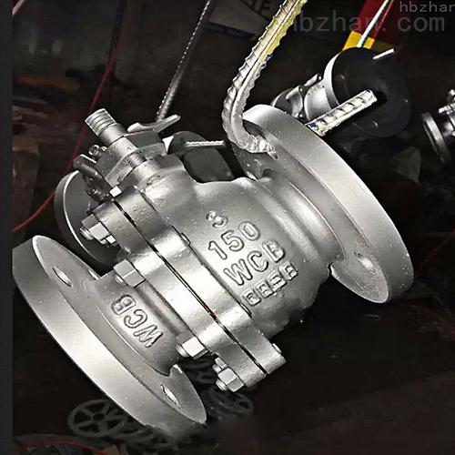 Q41F-锅炉蒸汽球阀