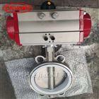 D671F-16P气动不锈钢耐酸碱对夹蝶阀GMD671F-16P
