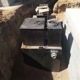 地埋式一体化污水处理设备安装使用