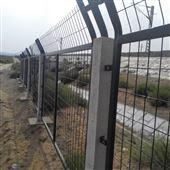 高速铁路运行封闭防护栅栏