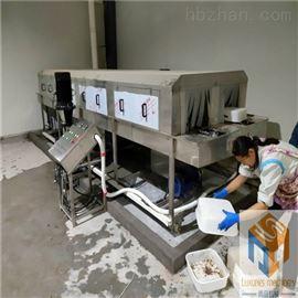 SPQX-5000热销新款琪英菌业定制双排全自动洗筐机