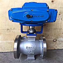Q641TC气动调节V型陶瓷球阀