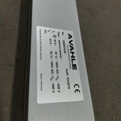 U10/25C-6000PE-A德國VAHLE法勒 U10/25C-6000PE-A 滑觸線