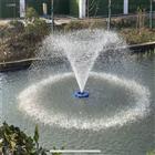 景觀河道節能型太陽能噴泉曝氣機