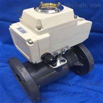 Q941F电动塑料球阀