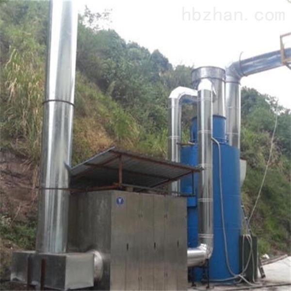 泰興廢氣處理噴淋塔安裝指導