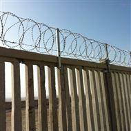 铁路高铁防爬加高刺丝滚笼防护栅栏