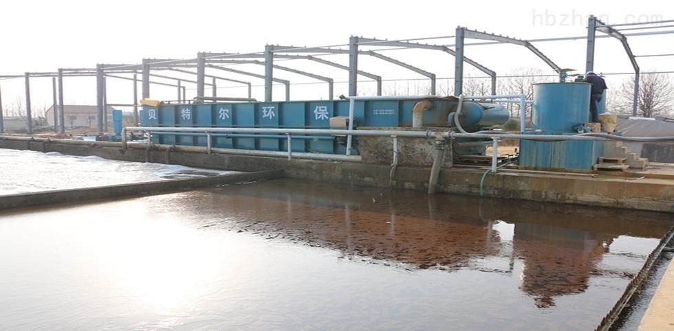 每天1500立方塑料制品污水运行现场