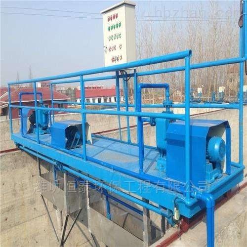 广州市桁车式刮吸泥机