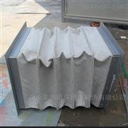 排烟加强型白色帆布伸缩软连接