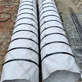 电厂专用散装机伸缩除尘帆布布袋