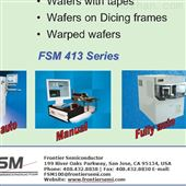 FSM403-200Wafer Thickness Mapper定制产品推荐