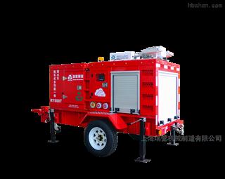 拖车式多功能一体排水车