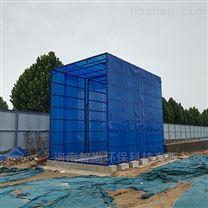 河南公交一公司6米工地洗车机安装完毕