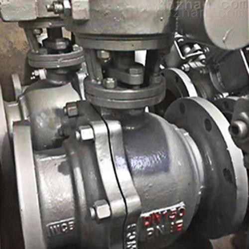 FDQ341F-铸钢防盗法兰球阀.