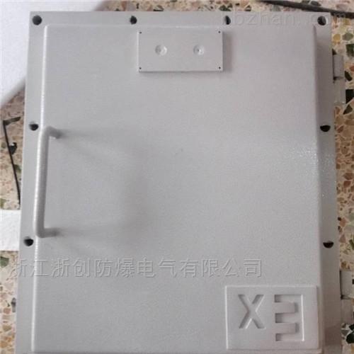 钢板焊接防爆接线箱化工厂防爆端子转接箱
