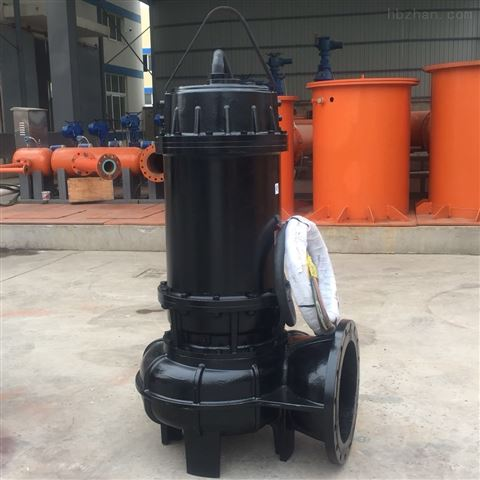 铸铁材质大流量潜水排污泵