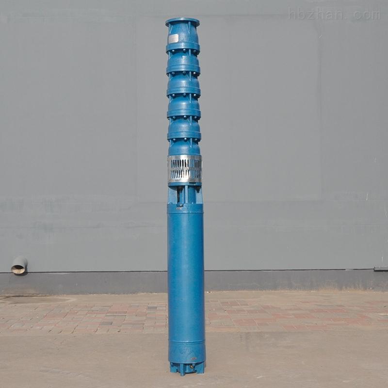 大流量铸铁井用潜水泵