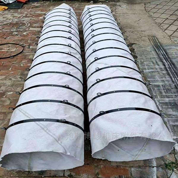 帆布耐磨除尘伸缩布袋型号定制