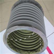 耐溫帆布粉塵顆粒輸送軟連接廠家尼龍通風管