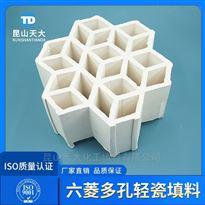 焦化厂专用轻瓷填料七孔带筋环