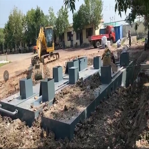 农村地埋式一体化污水处理设备技术