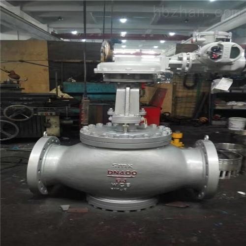 电动抗硫式阀套排污阀