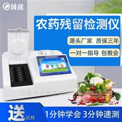 FT-NC10水果蔬菜农、药残留检测仪
