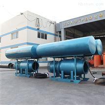 大流量浮筒式铸铁潜水轴流泵