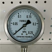 1.6级精度普通型304材质压力表
