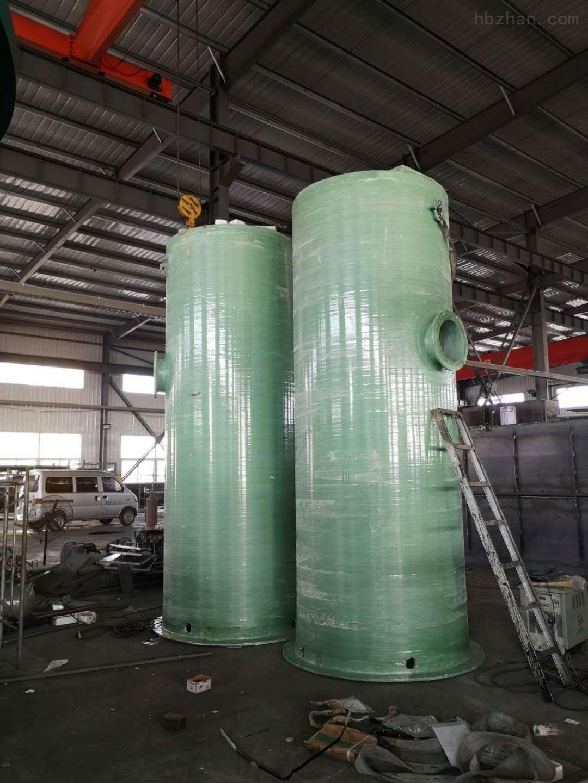 玻璃钢一体式泵站设备