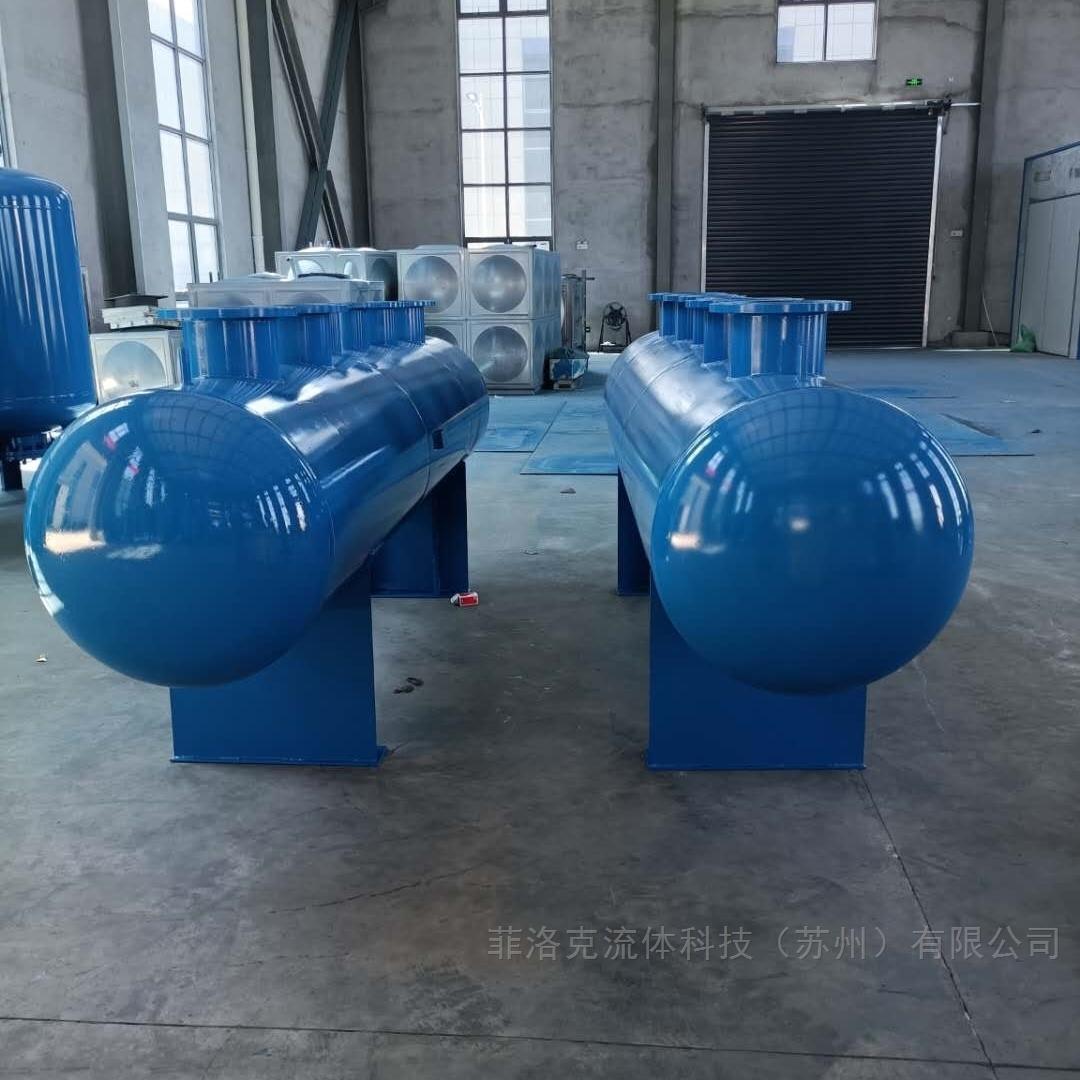 供应江苏苏州优质碳钢不锈钢分集水器分汽缸