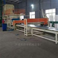 防火阻燃大型机制岩棉复合板生产线