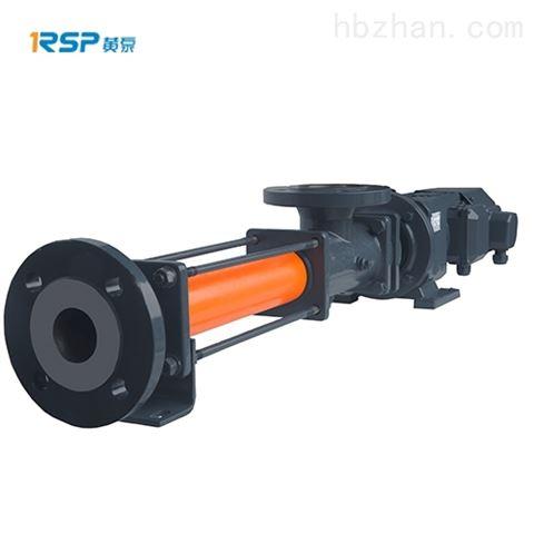 卧式单螺杆泵选型