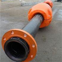 7寸管抽沙管道浮体清淤疏浚托管浮漂