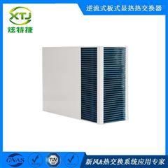 逆流式通风降温排湿用长方形气气板式换热器