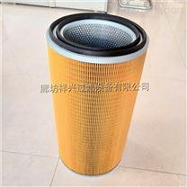 供应复合纸覆膜除尘滤筒 滤芯厂家批发