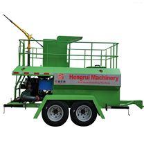 恒睿液力草籽喷播小型喷播机纤维喷播设备