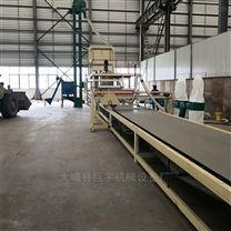 岩棉保温板复合设备生产线