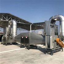 催化燃燒廢氣處理設備的工作原理