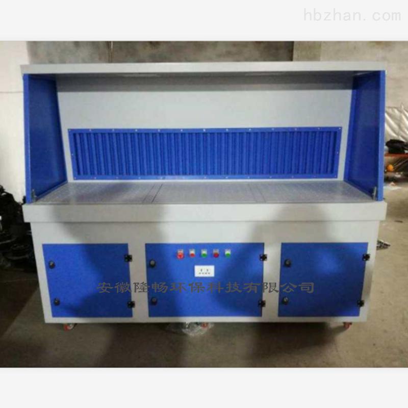 2.2KW+2.2KW磨床打磨吸尘工作台