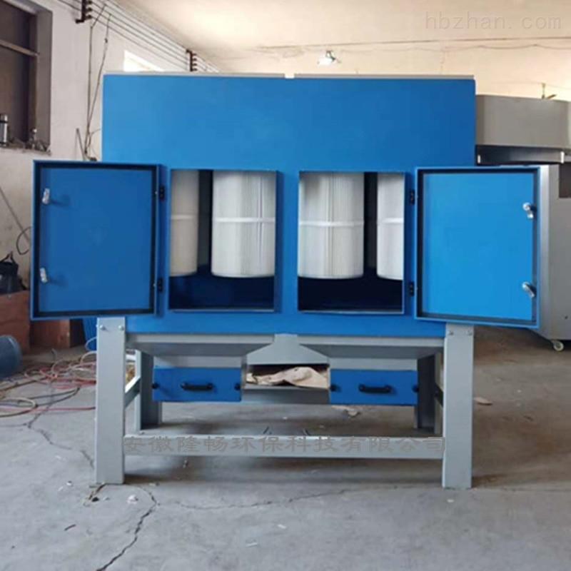 2.2KW+2.2KW工业除尘打磨台/打磨工作台