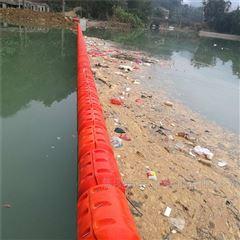 水库进水口拦垃圾塑料浮坝 拦污浮带