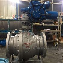 Q941H固定式軟密封法蘭電動球閥