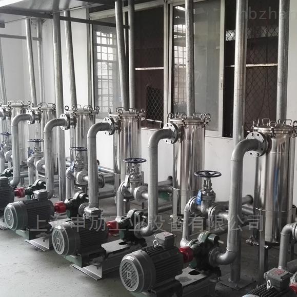 上海申劢DL-3P2S袋式润滑油过滤器